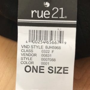 """Rue21 Accessories - """"Above the clouds"""" hat from rue 21"""